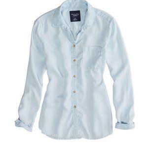 AE Boyfriend Chambray Shirt